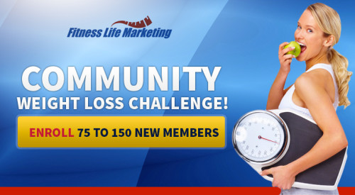 Community Weight Loss Challenge Membership Drive