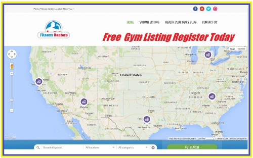 "Nationwide Gym Directory…""FREE"" Listings …List Your Location Now!"