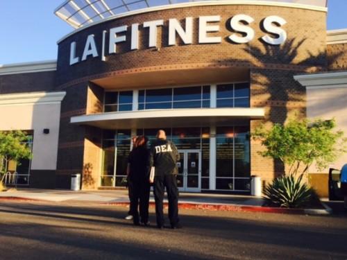 DEA Agents Raid LA Fitness