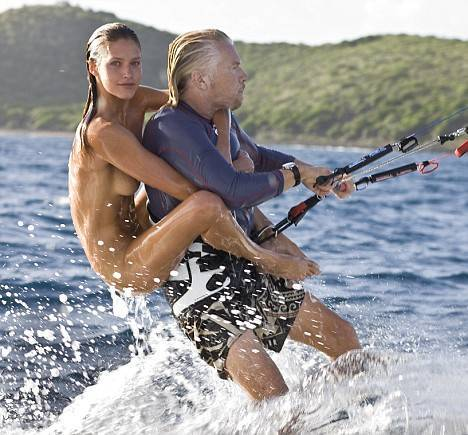 Richard Branson in the news again, unveils luxury health club
