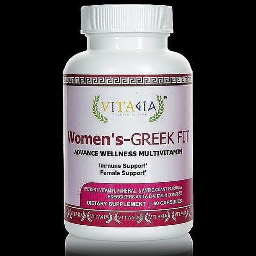 Women's-GREEK FIT ADVANCE WELLNESS MULTI-VITAMIN