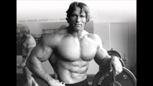 Arnold Schwarzeneggar… Body Building