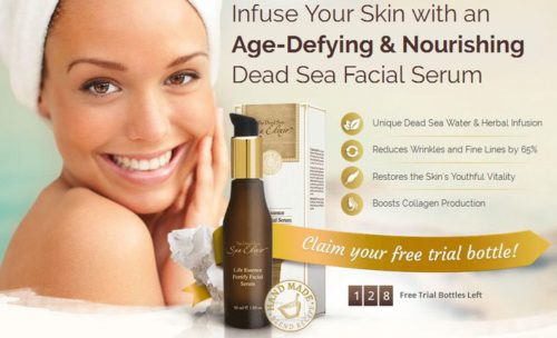 Infuse Your Skin with an Age-Defying & Nourishing Dead Sea Facial Serum