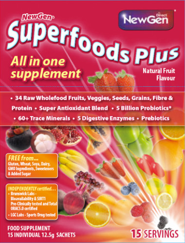 NewGen Superfoods Plus… Contains 100% Natural Ingredients!
