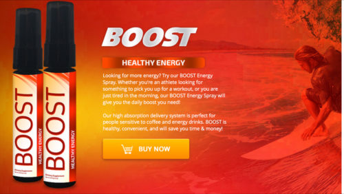 BOOST Energy Spray Looking for more energy?