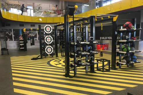 Biggest Gold's Gym in the world opens ???