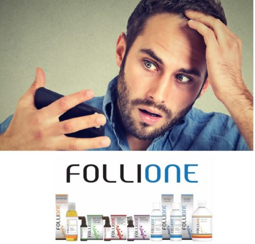 FOLLIONE: EVERY INGREDIENT IN FOLLIONE HAS ONLY ONE PURPOSE: TO REGROW YOUR HAIR