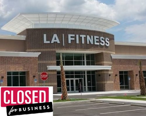 LA Fitness closing another location