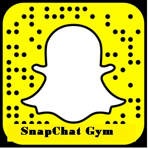 SnapChat Gym:  Interactive Fitness Team For YOU!